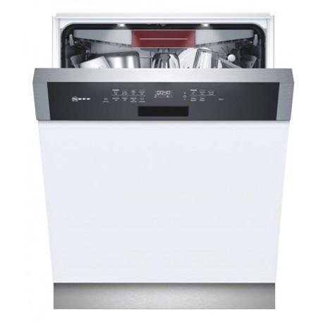 NEFF S147ECS21E Εντοιχιζόμενο πλυντήριο πιάτων με εμφανή μετόπη 60cm ανοξείδωτο ατσάλι