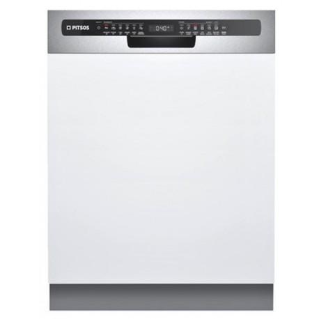PITSOS DIF61I00 Εντοιχιζόμενο πλυντήριο πιάτων με εμφανή μετόπη 60cm ανοξείδωτο ατσάλι
