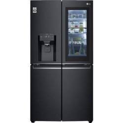 LG GMX945MC9F Multi Door (InstaView) Matte Black Steel-Μαύρο Ματ Ψυγείο τυπου ντουλάπας