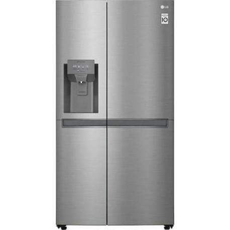 LG GSL481PZXZ Platinum Silver-Ασημί Ψυγείο τυπου ντουλάπας