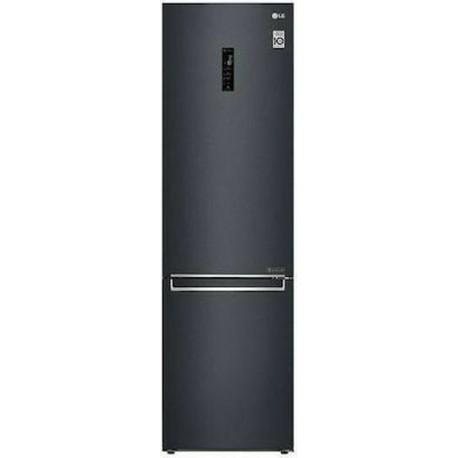LG GBB72MCDMN Ψυγείοκαταψυκτης Matte Black Steel-Μαύρο Ματ