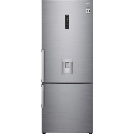 LG GBF567PZCMB Ψυγείοκαταψυκτης Platinum Silver-Ασημί