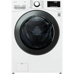 LG F1P1CY2W Πλυντήριο ρούχων Λευκό-Πόρτα Χρωμίου