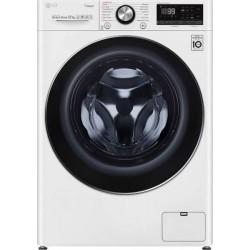 LG F4WV912P2 Πλυντήριο ρούχων Λευκό-Πόρτα Χρωμίου