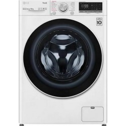 LG F4WV512S0E Πλυντήριο ρούχων Λευκό-Πόρτα Λευκή