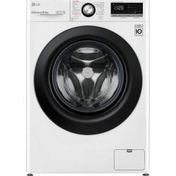 LG F4WV310S6E Πλυντήριο ρούχων Λευκό-Πόρτα μαύρη