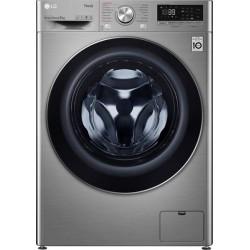 LG F4WV709S2TE Πλυντήριο ρούχων Ασημί -Πόρτα Χρωμίου