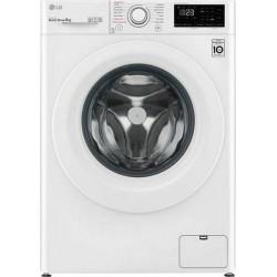 LG F4WV309S3E Πλυντήριο ρούχων Λευκό-Πόρτα Λευκή