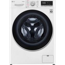 LG F2WV5S8S0E SLIM Πλυντήριο ρούχων Λευκό-Πόρτα Λευκή