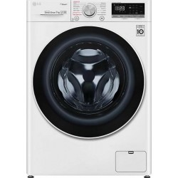 LG F2WN4S7S0 SLIM Πλυντήριο ρούχων Λευκό-Πόρτα Χρωμίου