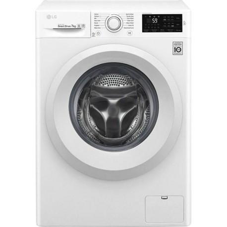 LG F4WV207N3E Πλυντήριο ρούχων Λευκό-Πόρτα Λευκή