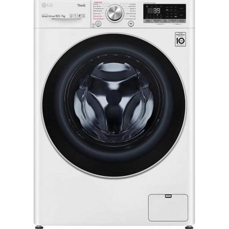LG F4DV710H1E Πλυντήριο - Στεγνωτήριο Λευκό-Πόρτα Χρωμίου