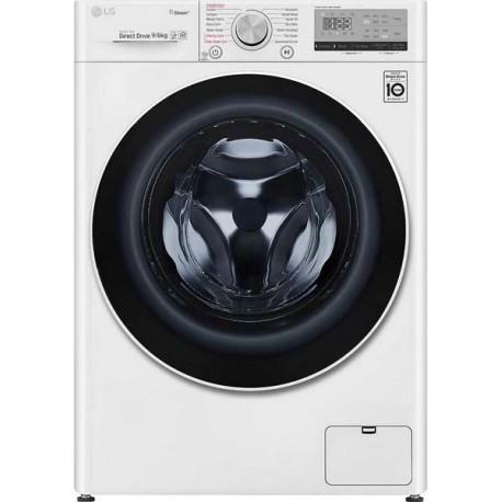 LG F4DV509H0E Πλυντήριο - Στεγνωτήριο 9-6 Λευκό-Πόρτα λευκή