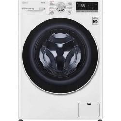 LG F2DV5S8H0E SLIM Πλυντήριο - Στεγνωτήριο 8-5 Λευκό-Πόρτα λευκή