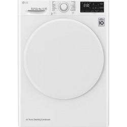 LG RC80U2AV0Q Στεγνωτήριο Λευκό-Πόρτα Λευκή