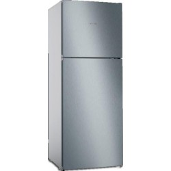 PITSOS PKNT55NLFB Ελεύθερο δίπορτο ψυγείο 186x70cm ανοξείδωτη όψη