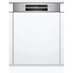 BOSCH SMI6TCS00E Serie   6 Εντοιχιζόμενο πλυντήριο πιάτων με εμφανή μετόπη 60cm ανοξείδωτο ατσάλι