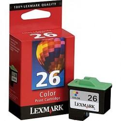 Lexmark 26 Colour 10N0026E Γνήσιο μελάνι