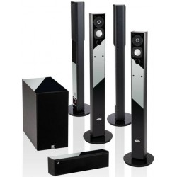 Crystal Audio BPT5.8-BLA PLASMA Σετ Ηχείων Home Cinema