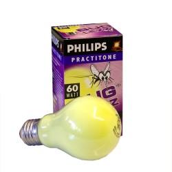 Philips PRACTITONE A60 60W E27 BUGLEZZZ Λαμπτήρας για Προστασία απο Κουνούπια