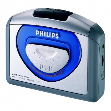 PHILIPS AQ-6492 STEREO CASSETTE PLAYER